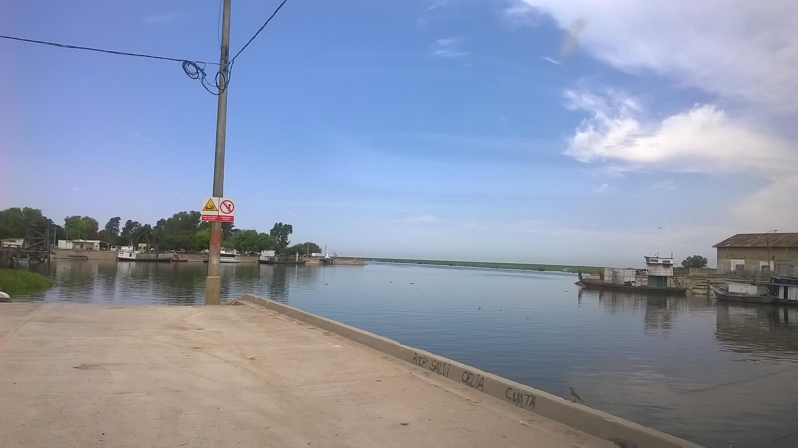 El puerto de Victoria