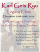 Karl Geis Ryu Winter Legacy Clinic
