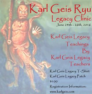 Karl Geis Ryu Summer Clinic 2016...