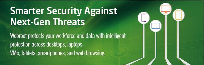 Webroot Smarter Security