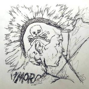 Sketchbook Study - A Punk
