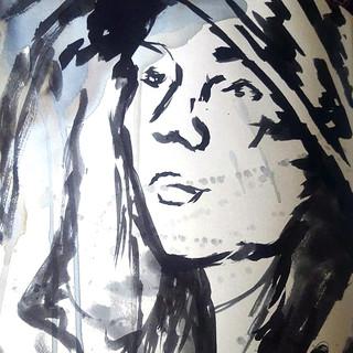 Sketchbook Study - Hooded Girl