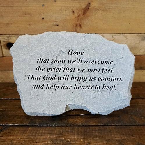 Hope Memorial Stone