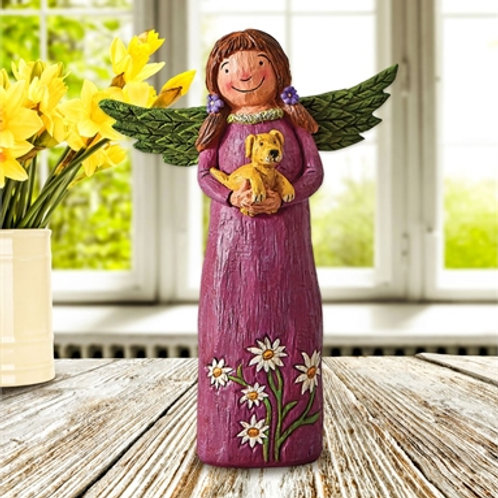 """Wings of Whimsy: Better Together 8""""Angel Figurine"""