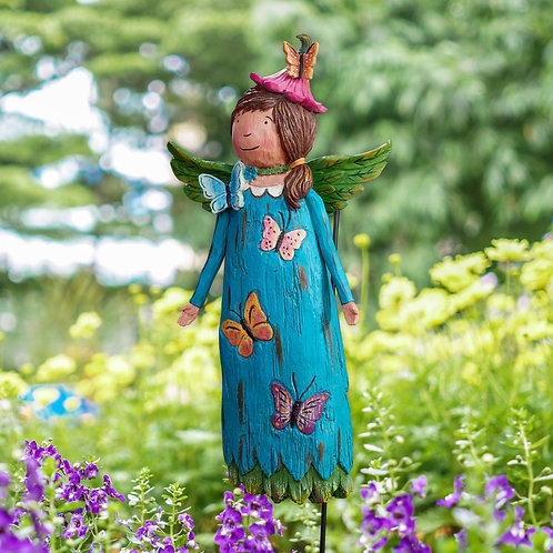 Wings of Whimsy: Faith Will See You Through Garden Angel