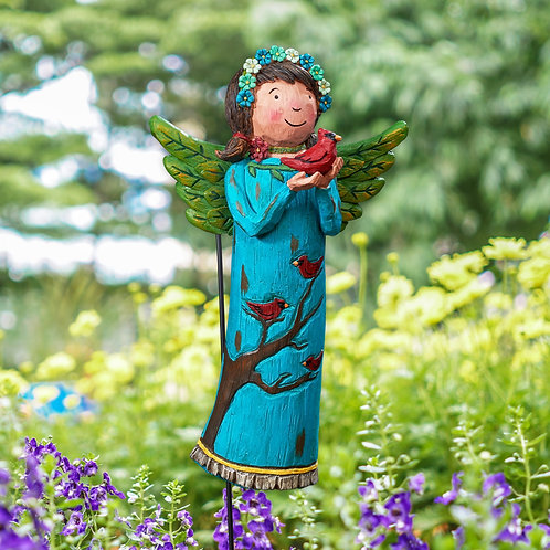 Wings of Whimsy: At Peace Garden Angel