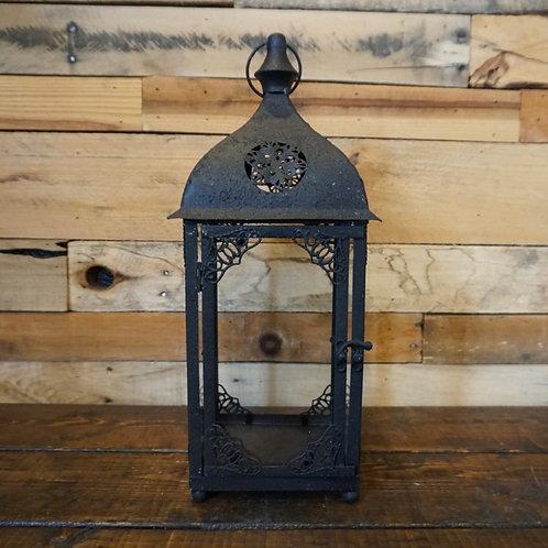 Black Antique Lantern