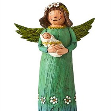 "Wings of Whimsy: Life's Miracles 8"" Angel Figurine"