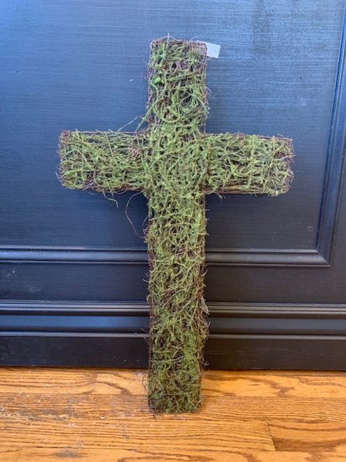 Cross: Moss Covered