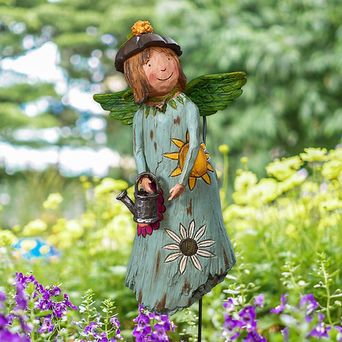 Wings of Whimsy: Courage Grows Garden Angel