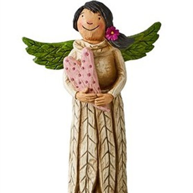 "Wings of Whimsy: Unconditional Love 8"" Angel Figurine"