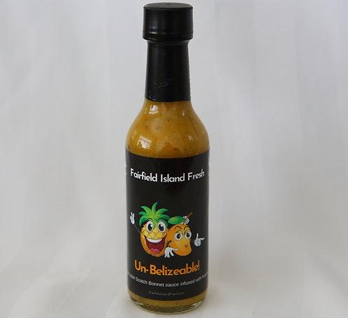 5oz bottle 'Un-Belizeable'