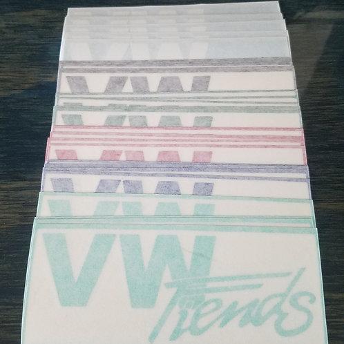 VW Fiends Stickers