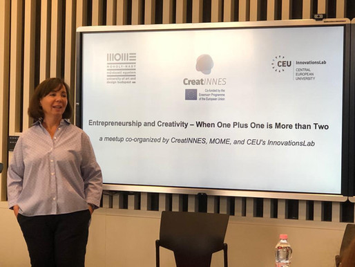 Entrepreneurship and Creativity - One Plus One Is More Than Two