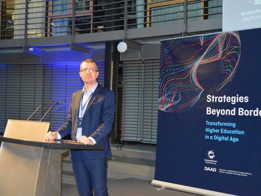 "CreatINNES at ""Strategies Beyond Borders – Transforming Higher Education in a Digital Age"""