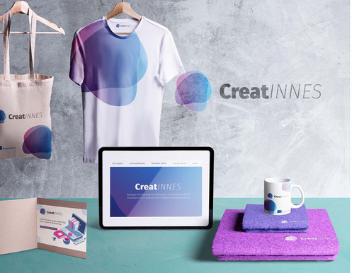 The CreatINNES New Brand Identity – Sophisticated and Elegant