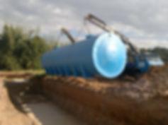 Cisterna horizontal