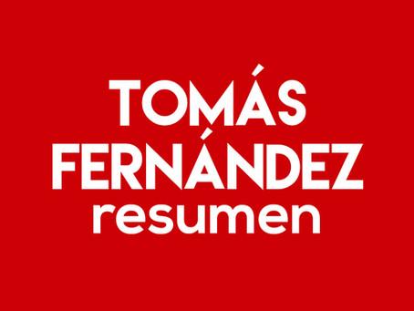 Tomás Fernández - Resumen