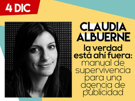 Claudia Albuerne - Tercer Ponente