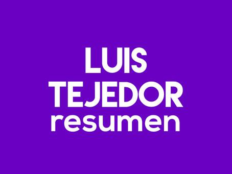 Luis Tejedor - Resumen