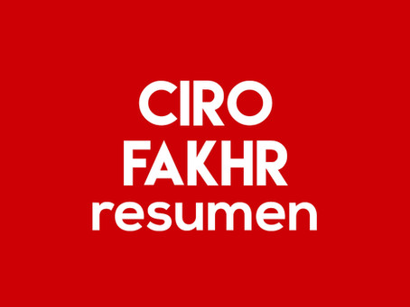 Ciro Fakhr - Resumen