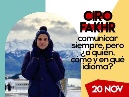 Ciro Fakhr - Segundo Ponente