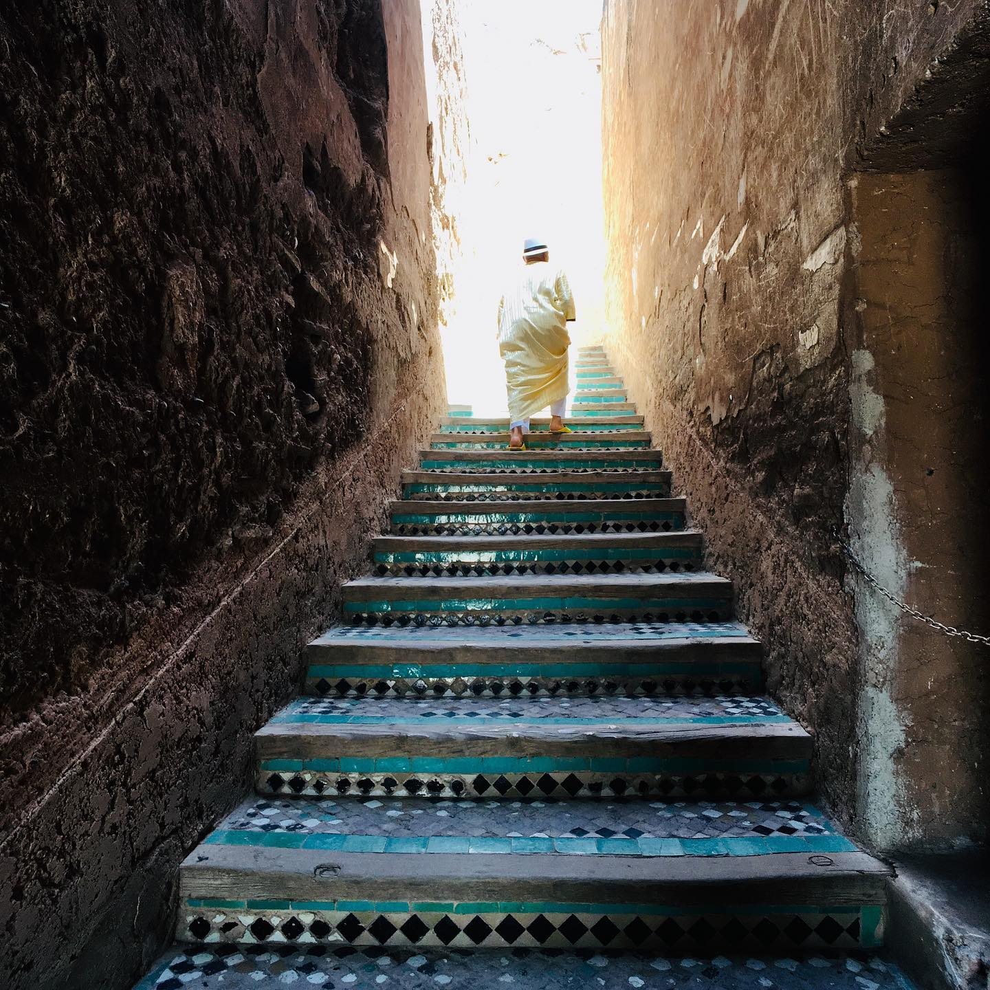 Staircase to God