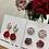 Thumbnail: [Mixed] Crochet earrings Pin set-F