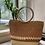 Thumbnail: [Raffia] Ring top handle straw bag