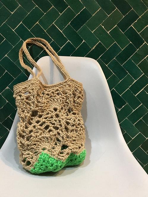 [Hemp] Pineapple Tote Bag