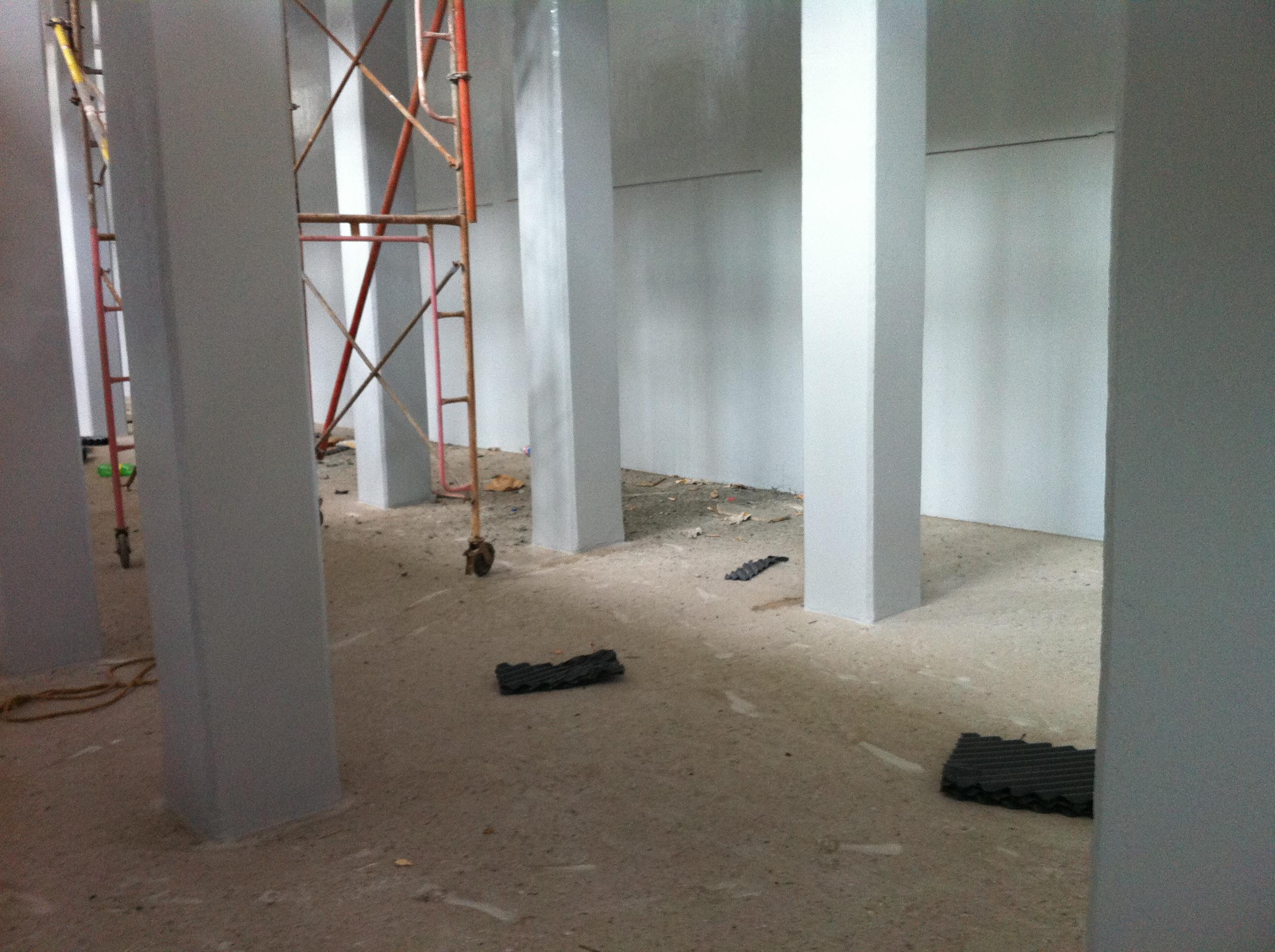 Inside Cooling Tower Under progress -2