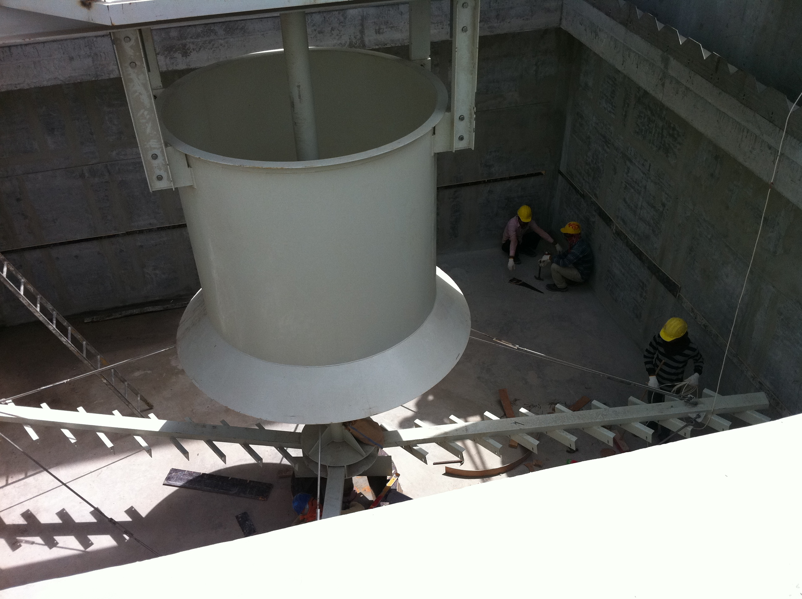 Prepared concrete Sorting Tank -2