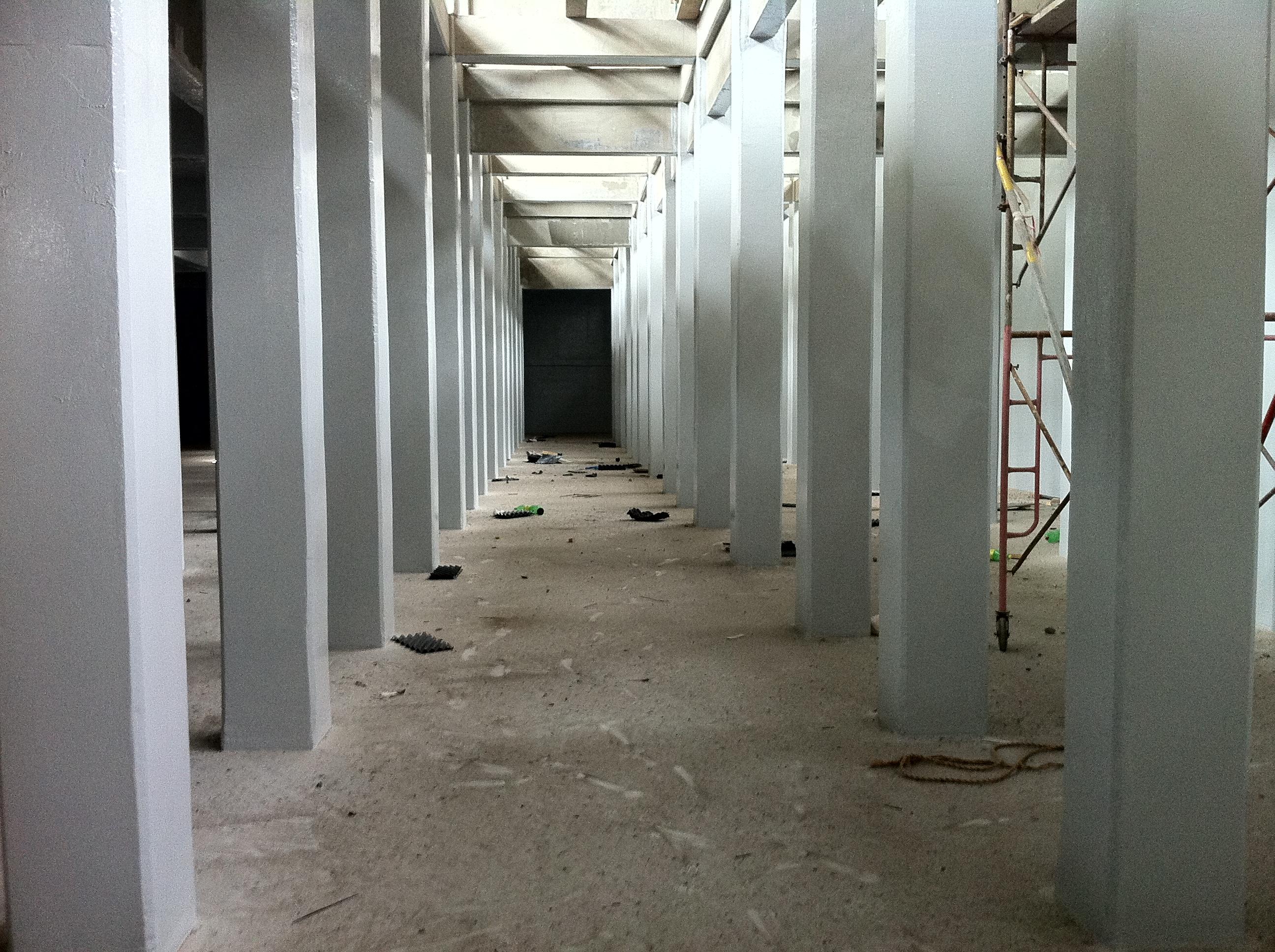 Inside Cooling Tower Underprogress-1