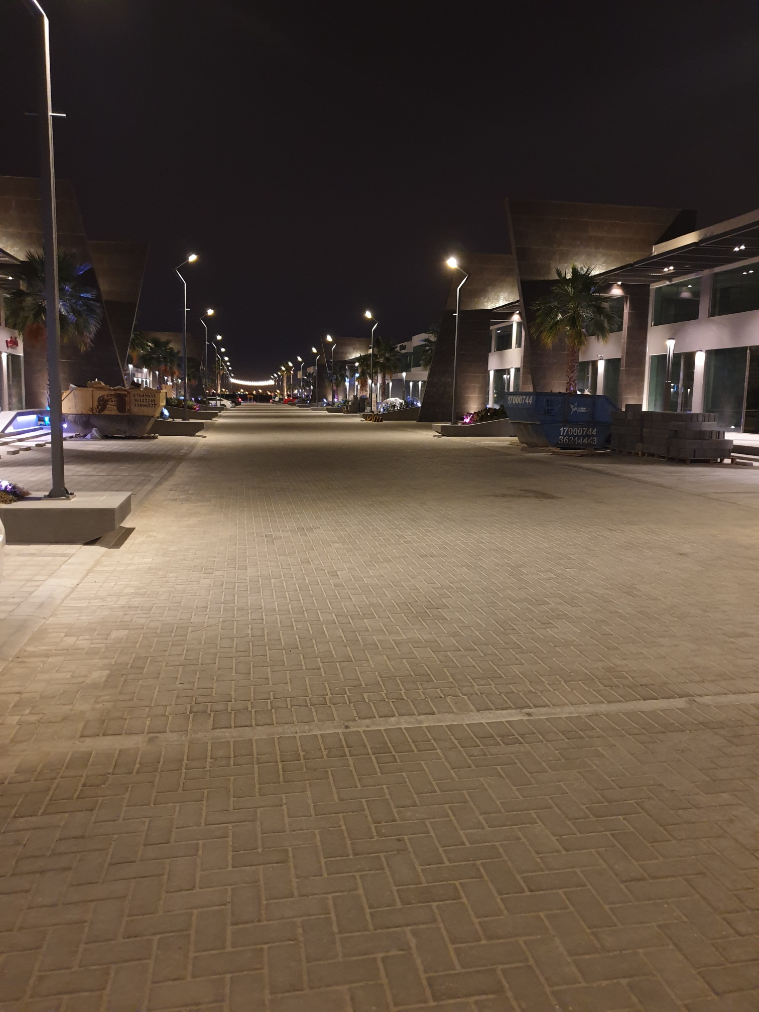 Middle Road Night View