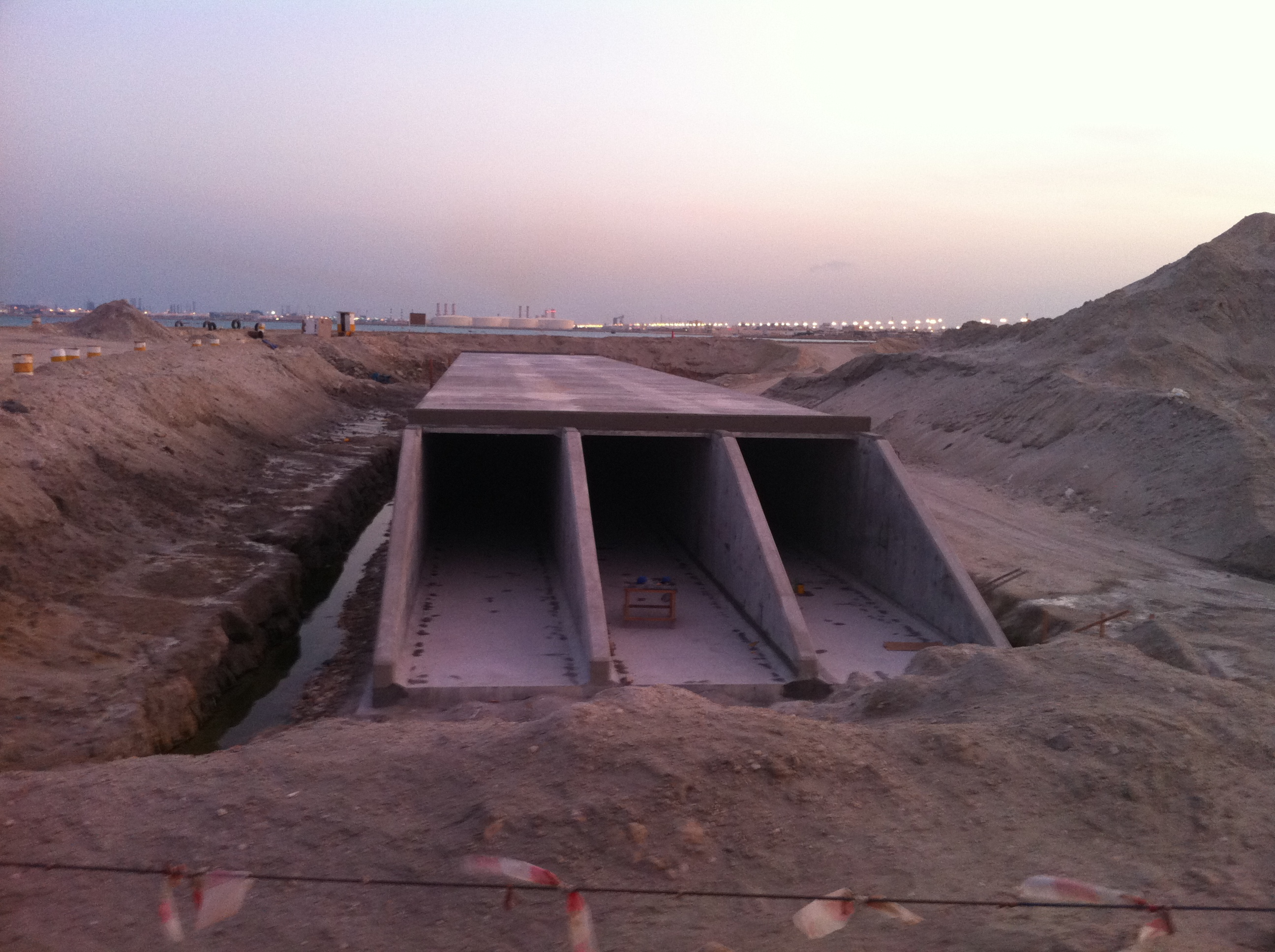 Right Culvert Front View