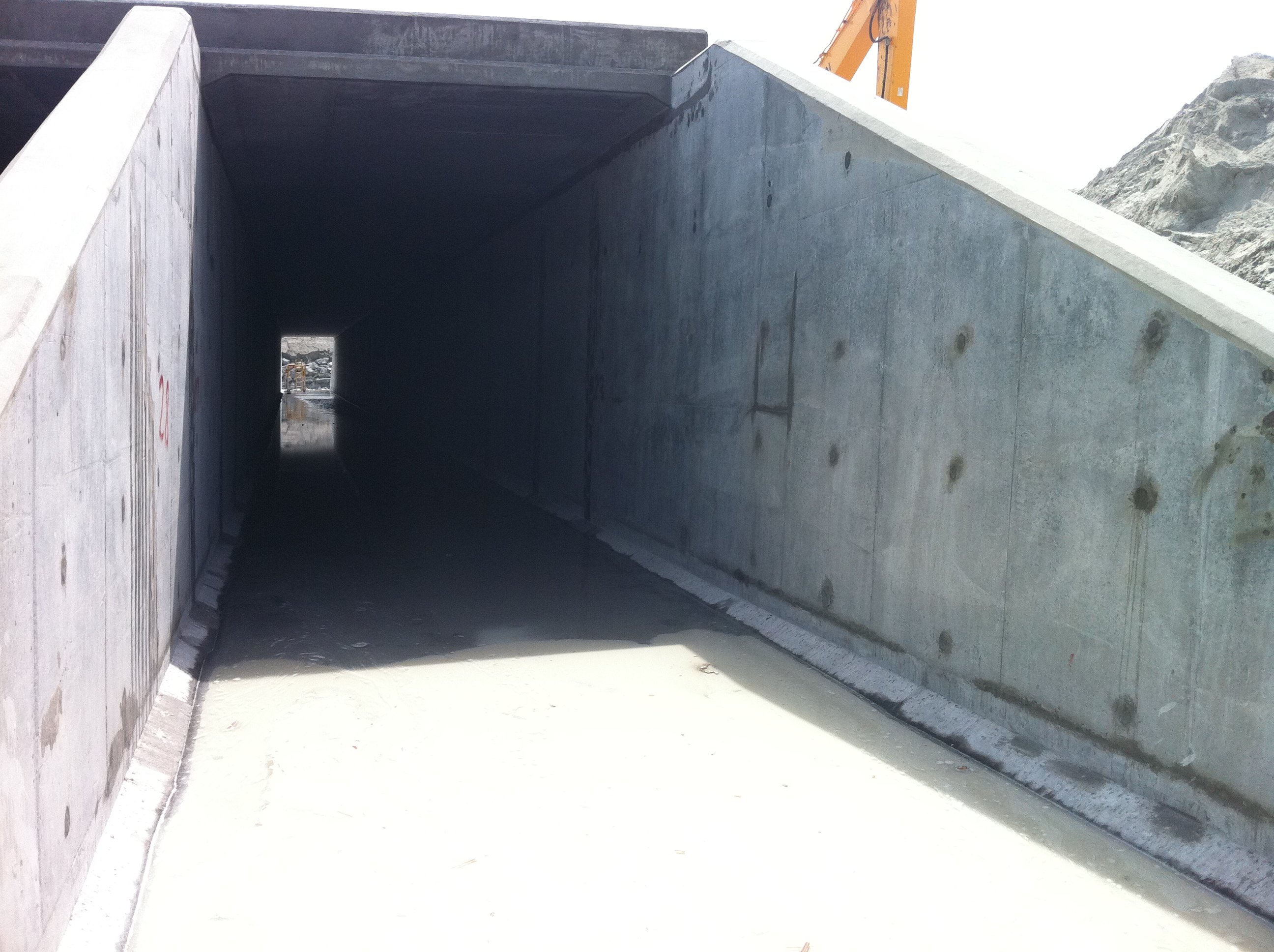 Right Culvert Entrance