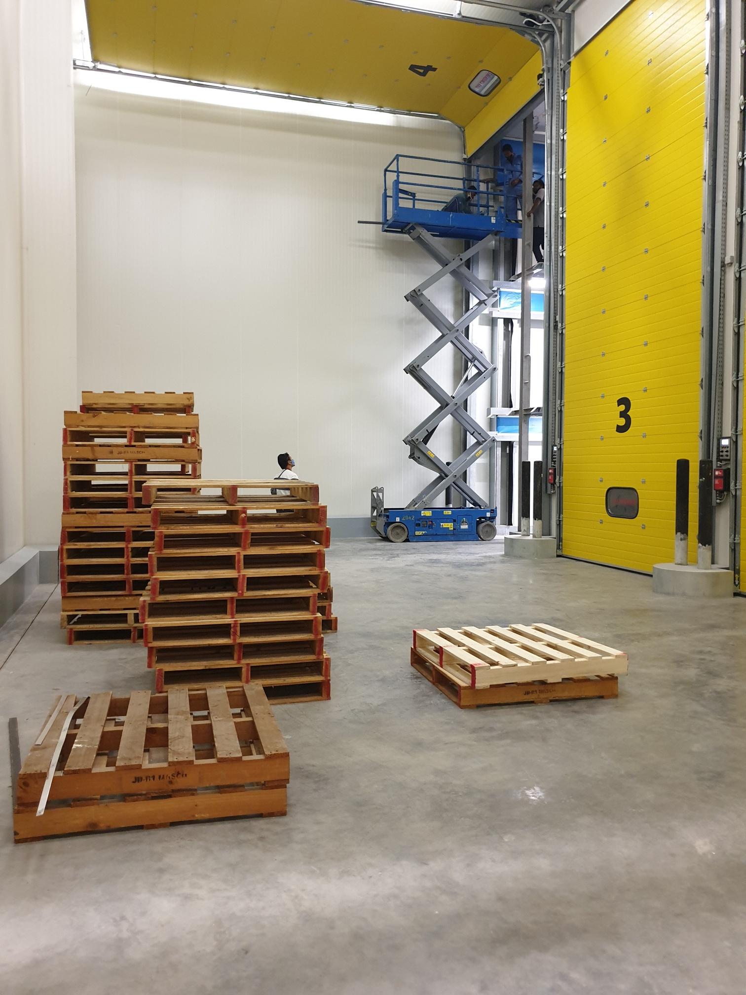 Internal Cold Storage stacking