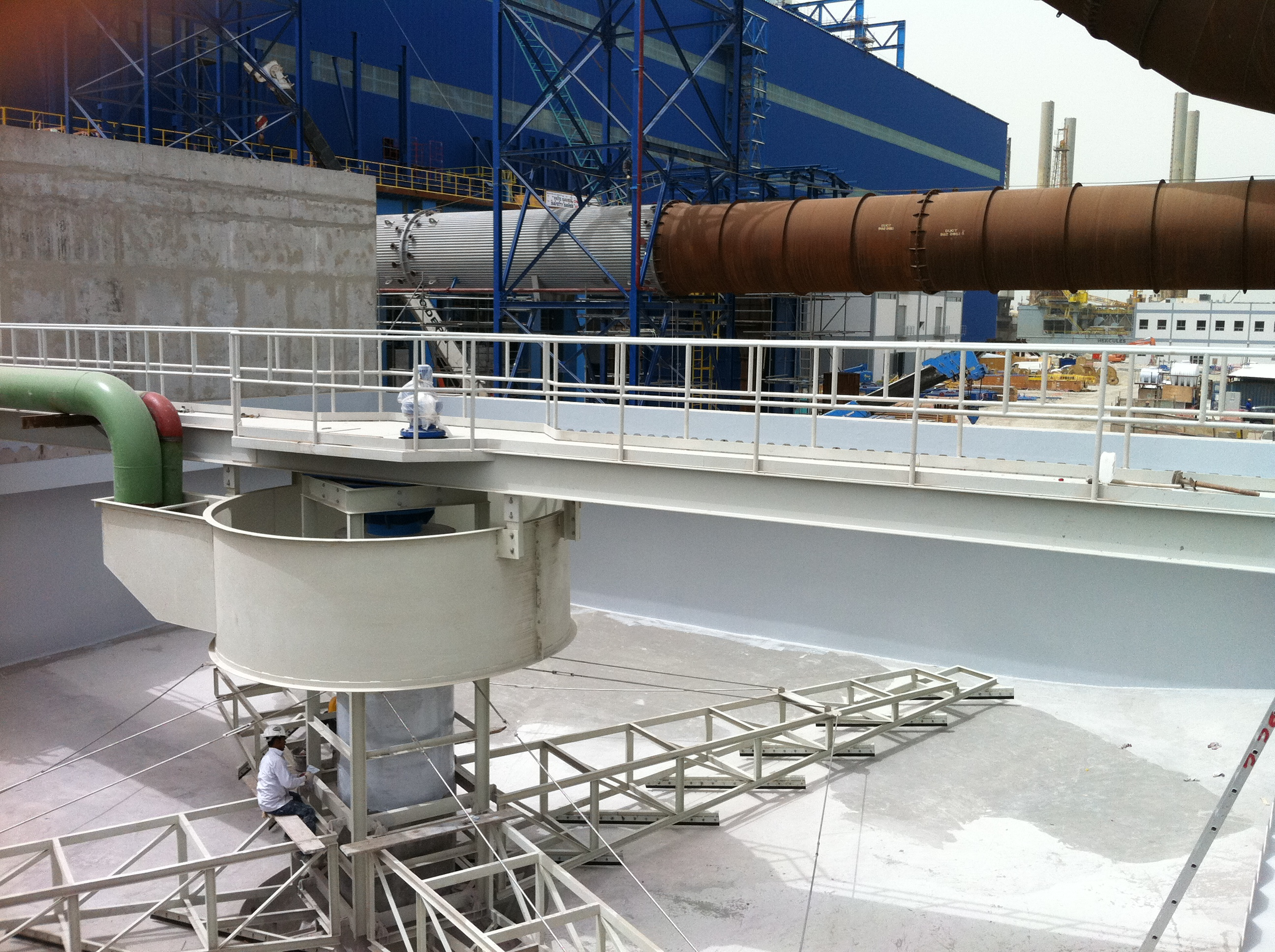 Prepared concrete Sorting Tank