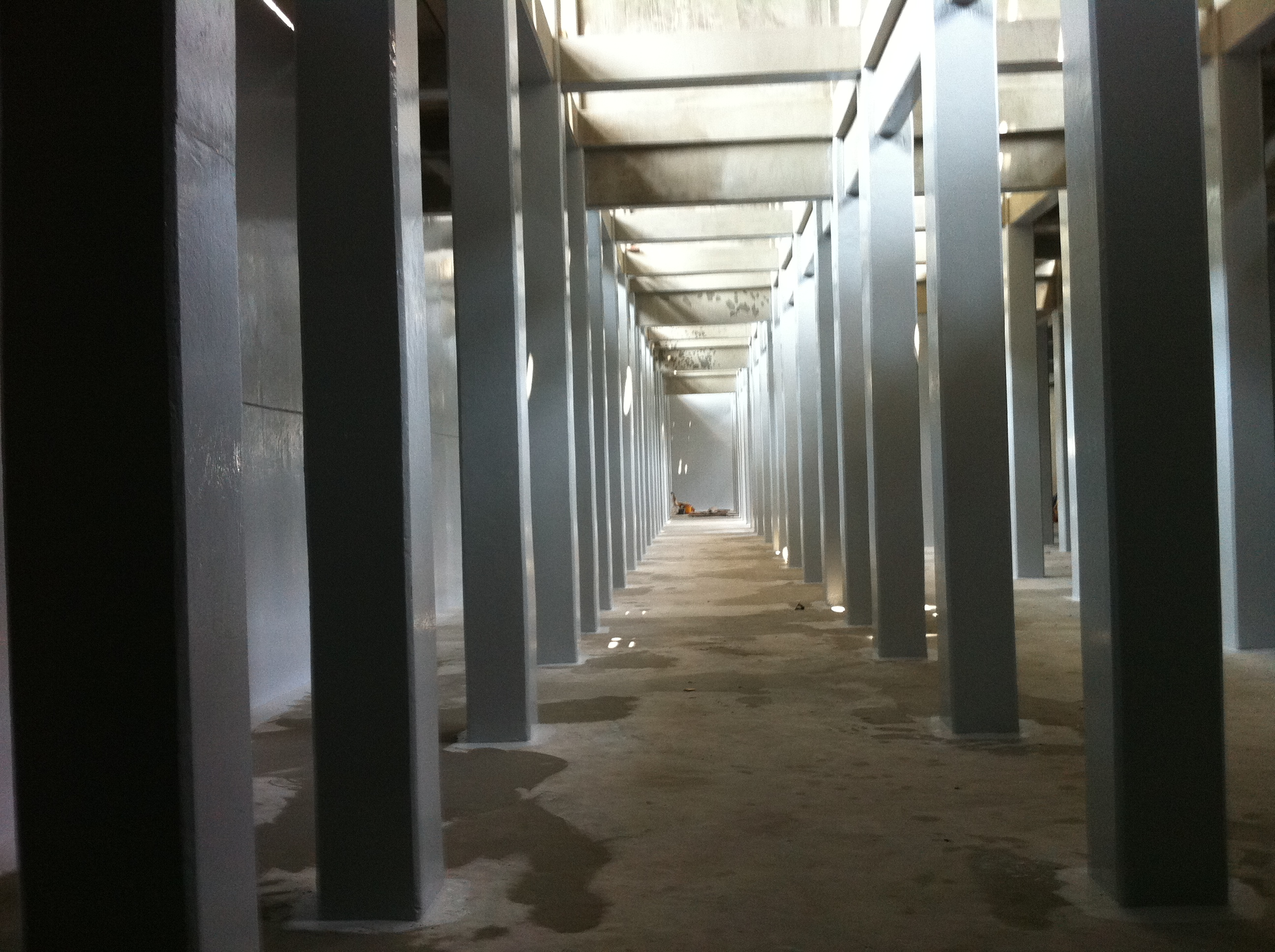 Inside Cooling Tower Coated -1