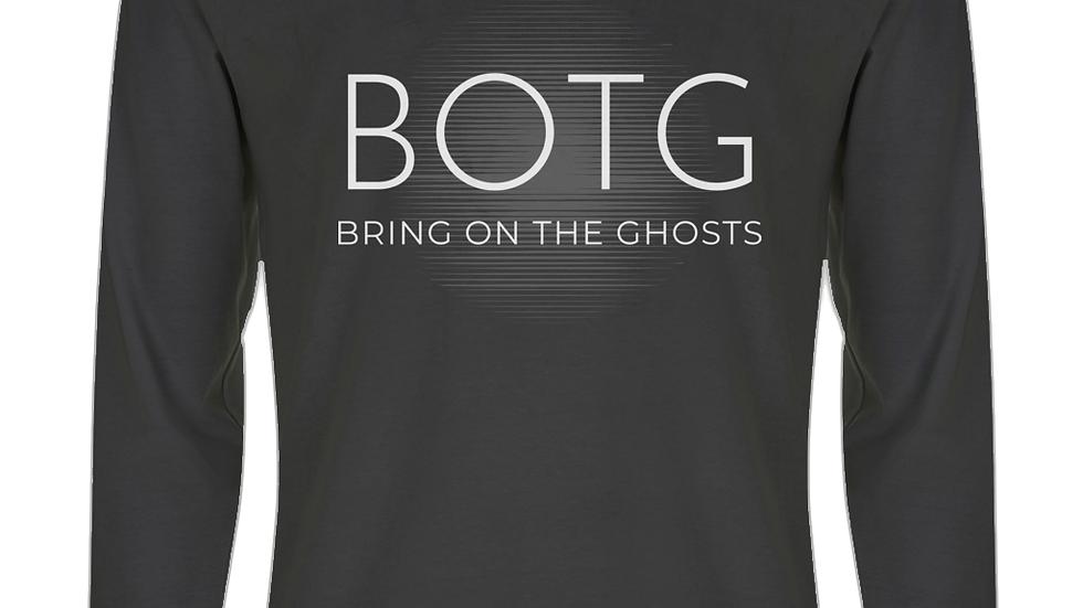 BOTG White Logo Long Sleeve T-Shirt