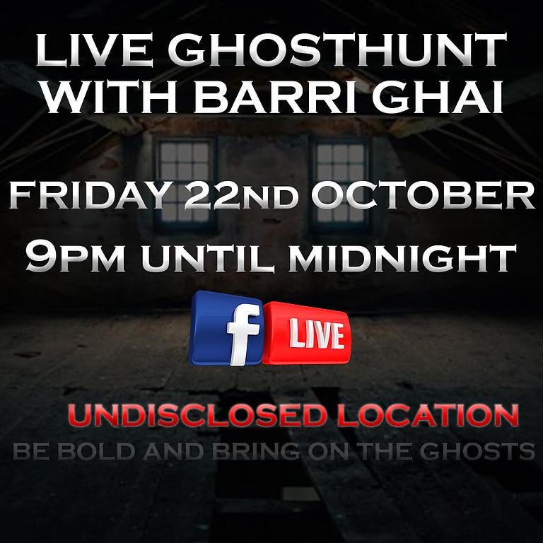 Facebook LIVE GHOSTHUNT