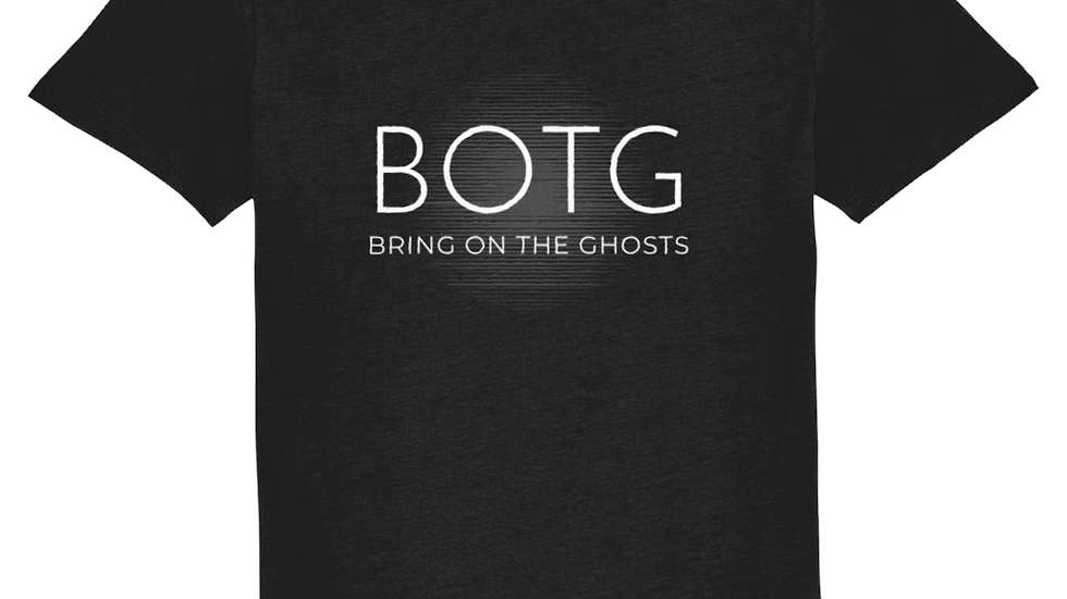BOTG T-Shirt Bold White with Autograph