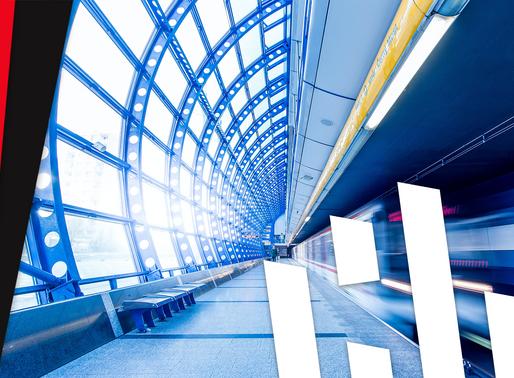 China: U-Bahn-Fenster sind transparente Displays