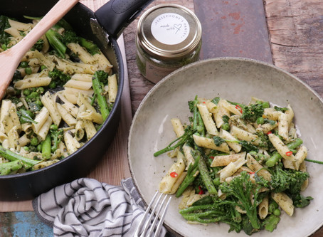Goodness Greens Pesto Pasta