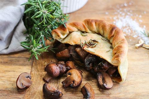 Persephone's Pantry | Vegan Mushroom and Rosemary Pie
