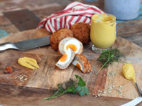 Fennel & Mustard Scotch Eggs