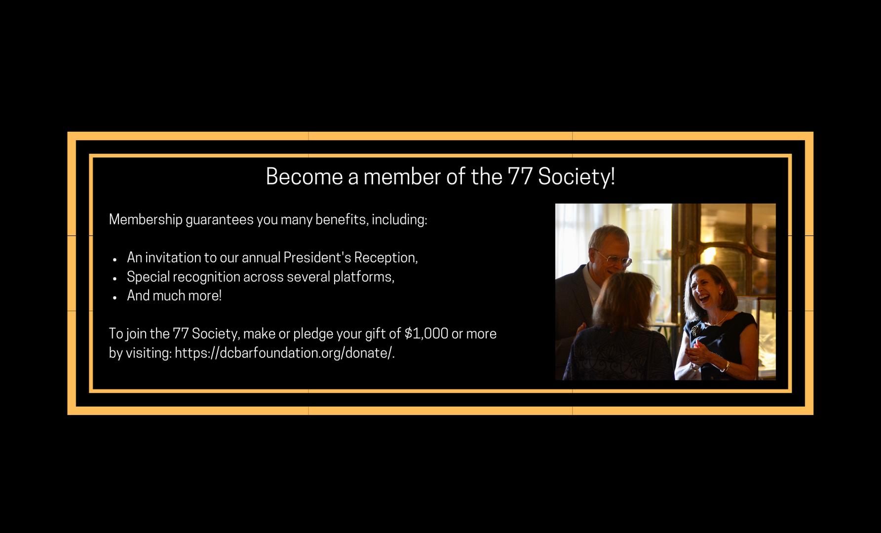 The 77 Society