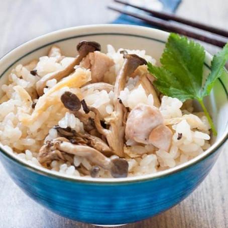 Simple mushroom rice recipe