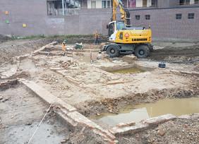 Bastion II : Construction starting
