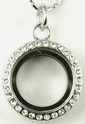 Round CZ Necklace